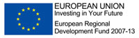 European Regional Development Fund (ERDF) logo